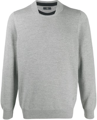 Fay Crew Neck Wool Jumper
