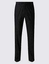 M&S Collection Charcoal Tailored Fit Trousers