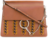 Chloé Faye embroidered tote - women - Calf Leather/Suede - One Size