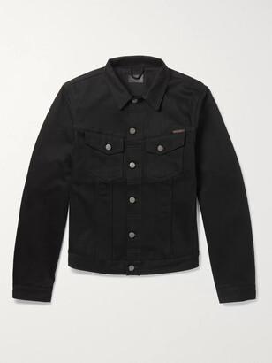 Nudie Jeans Billy Slim-Fit Organic Denim Jacket - Men - Black