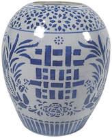 One Kings Lane Vintage Blue & White Ginger Jar