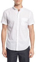 Bonobos Men's Slim Fit Short Sleeve Chambray Sport Shirt