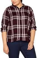 Zizzi Women's LS Shirt,(Manufacturer Size: Large)