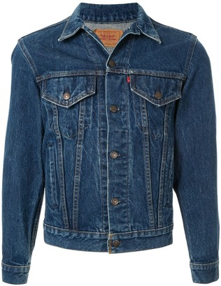Fake Alpha X Levi's Vintage 1980s Levis 70506 denim jacket