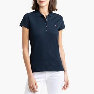 Tommy Hilfiger Cotton Polo Shirt with Short Sleeves