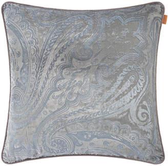 Etro Hokkaido Akan Cushion with Cord - 60x60cm - Grey/Silver