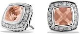 David Yurman Petite Albion Earrings with Morganite & Diamonds