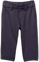 Tea Collection Windowpane Trousers (Baby Boys)