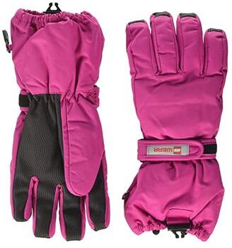 Lego Snow Gloves with Thinsulate Insulation (Little Kids/Big Kids) (Dark Pink) Over-Mits Gloves