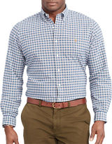 Polo Ralph Lauren Big and Tall Checked Oxford Shirt