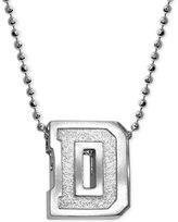 Alex Woo Little Collegiate by Dartmouth Pendant Necklace in Sterling Silver