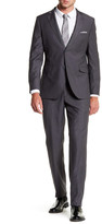 James Campbell Favio Woven Two Button Notch Lapel Slim Fit Suit