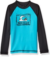Quiksilver Toddler Boys' Bubble Dream Long Sleeve Rash Guard Upf 50 Plus