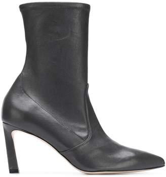 Stuart Weitzman Rapture curved heel boots