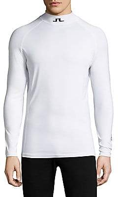 J. Lindeberg Men's Active Stretch Athletic Top