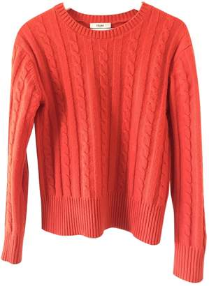 Celine \N Orange Wool Knitwear for Women