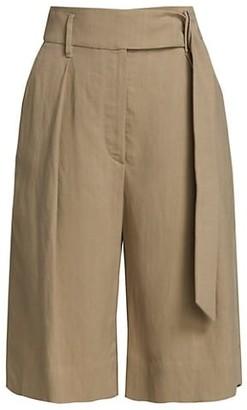 Brunello Cucinelli Linen Twill Bermuda Shorts