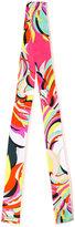 Emilio Pucci colour-block scarf