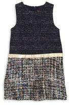 Imoga Toddler's, Little Girl's & Girl's Tweed Dress