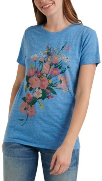 Lucky Brand Floral Bouquet Graphic T-Shirt