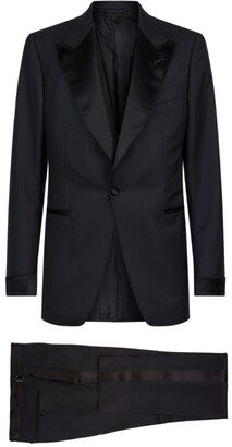 Tom Ford Shelton Satin-Trim Tuxedo