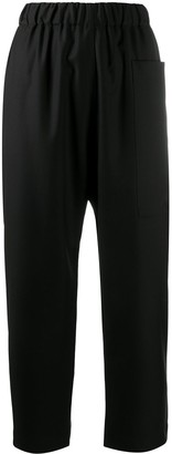 Sofie D'hoore Elasticated Cropped Leg Trousers