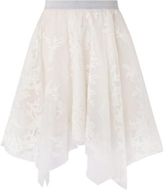 Under Armour Princesca Sparkle Tulle Hanky Hem Skirt