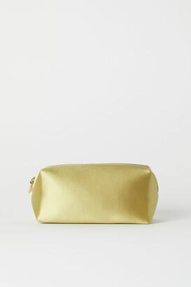H&M Satin Makeup Bag