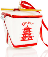 Holiday Lane Takeout Container Ornament