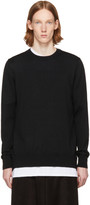 Comme des Garcons Black Layered Open Back Sweater