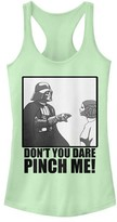 Fifth Sun Women's Tank Tops MINT - Star Wars Mint Darth Vader 'Don't You Dare' Racerback Tank - Women & Juniors