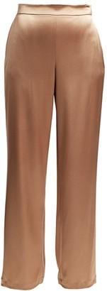 Lafayette 148 New York Riverside Satin Ankle Pants
