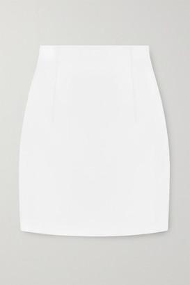GAUGE81 Umea Faux Leather Mini Skirt - Off-white
