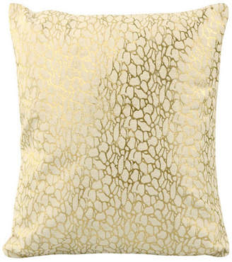 Moe's Home Collection Daisy Pillow White And Gold