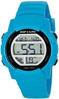Rip Curl Men's 'Mission Digital' Quartz Plastic and Polyurethane Sport Watch