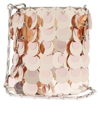 Paco Rabanne Sparkle 1969 Sequinned Shoulder Bag - Womens - Light Pink