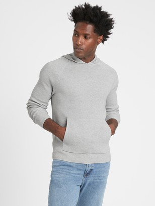 Banana Republic SUPIMA Cotton Sweater Hoodie