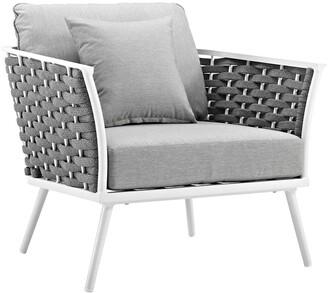 Modway Outdoor Stance Outdoor Patio Aluminum Armchair