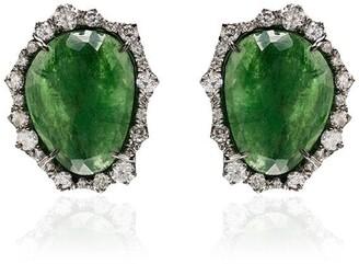 Kimberly 18kt White Gold Diamond Stone Earrings
