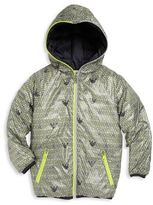 Armani Junior Little Boy's & Boy's Reversible Down Jacket
