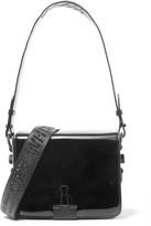 Off-White OffWhite - Embellished Patent-leather Shoulder Bag