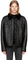 Alexander Wang Black Shearling Jacket