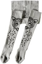 Little Marc Jacobs Knit Tights (Toddler/Kid) - Gris Chine - 25