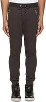 Diesel Grey and Black P-herk Lounge Pants