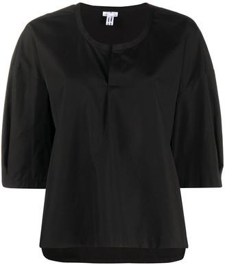 Comme des Garçons Comme des Garçons Oversized Half-Sleeve Blouse