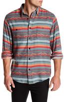 Faherty Long Sleeve Print Regular Fit Shirt