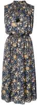 ADAM by Adam Lippes printed floral silk sleeveless dress