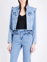 Claudie Pierlot Vahina stretch-denim jacket