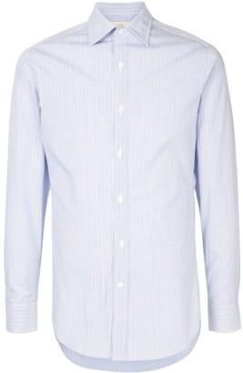 Kent & Curwen Striped Slim Fit Shirt