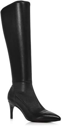 Charles David Women's Phenom Stretch Leather Tall Boots